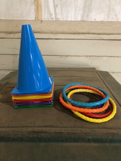 Colored cones & rings